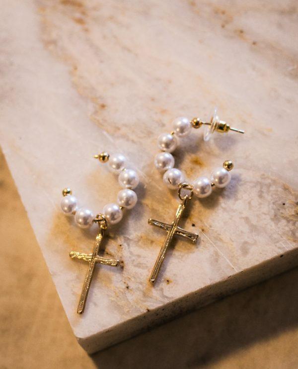 Κρικάκια με περλίτσες και σταυρό
