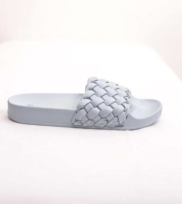 Sliders με πλέξη-Γαλάζιο