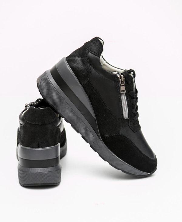 Ανατομικά Sneakers - Mαύρο